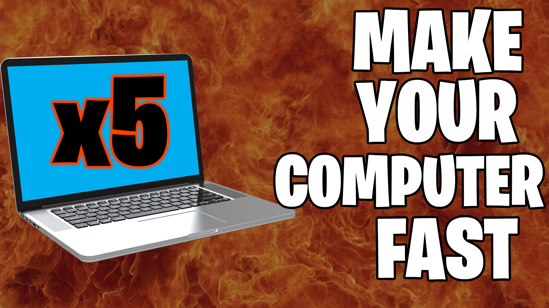 make your computer fast